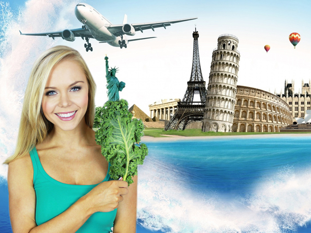 Vegan on a Jet Plane