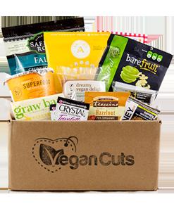 vegan cuts snack box not stretched